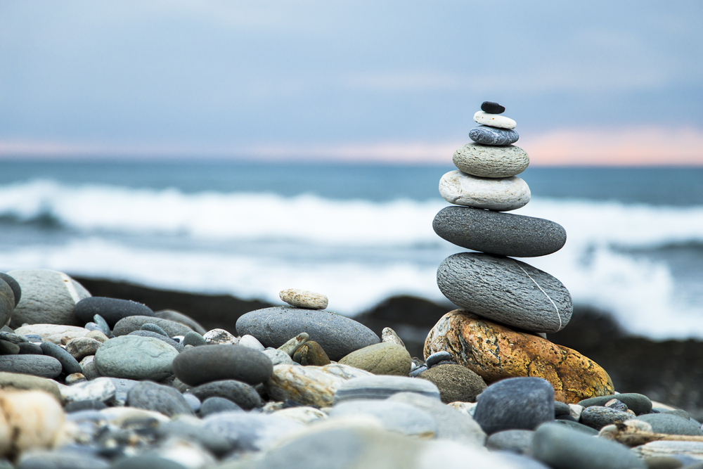 Endocannabinoid System blog balance rocks