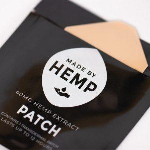 CBD Patch Made by Hemp 40 mg CBD