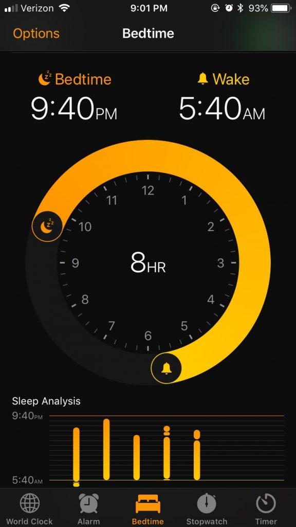 better sleep clock application
