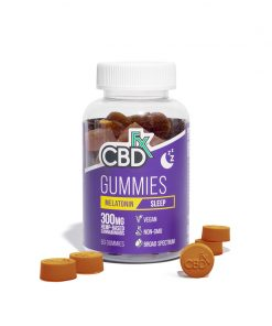 cbdfx brand cbd gummies melatonin