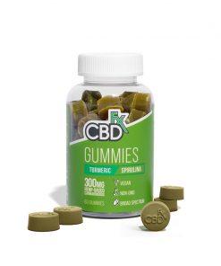 cbdfx brand cbd gummies turmeric spriulina