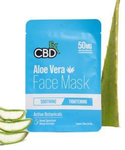 cbdfx aloe cbd face mask