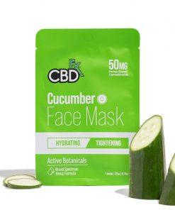 cbdfx cucumber cbd face mask