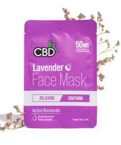 cbdfx lavender cbd face mask