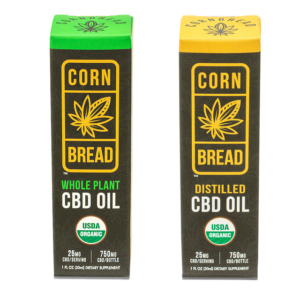 whole plant distilled cbd oil cornbread hemp